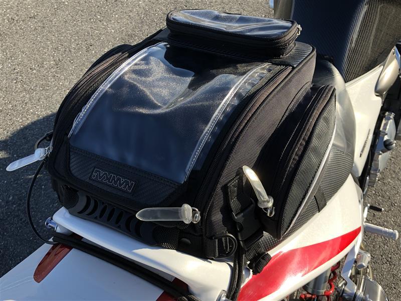 NANKAI タンク・シート兼用ツーリングバッグ