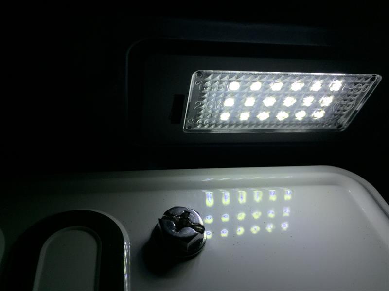 ライコウ LEDナンバー灯【ライセンスランプ】ユニット