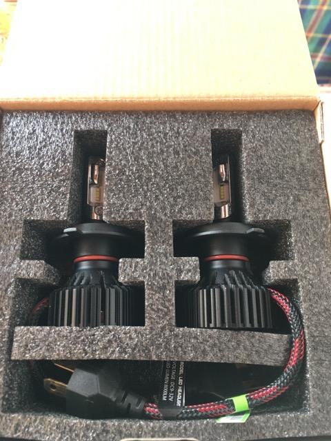 zodoo LEDヘッドライト H4 Hi/Lo 車検対応 切替タイプ 高品質PHILIPS Lumileds LUXEON ZES CHIP搭載 一体式 36W×2 8000Lm×2 6500K ホワイト