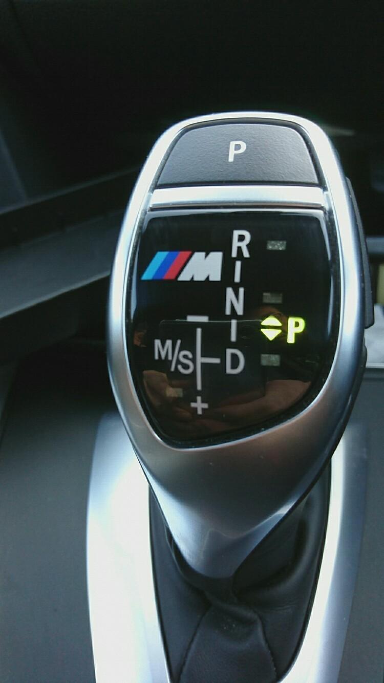BMW M PERFORMANCE シフトノブパネル