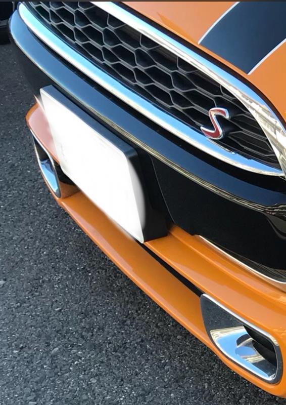 BMW MINI(純正) メッキダクト