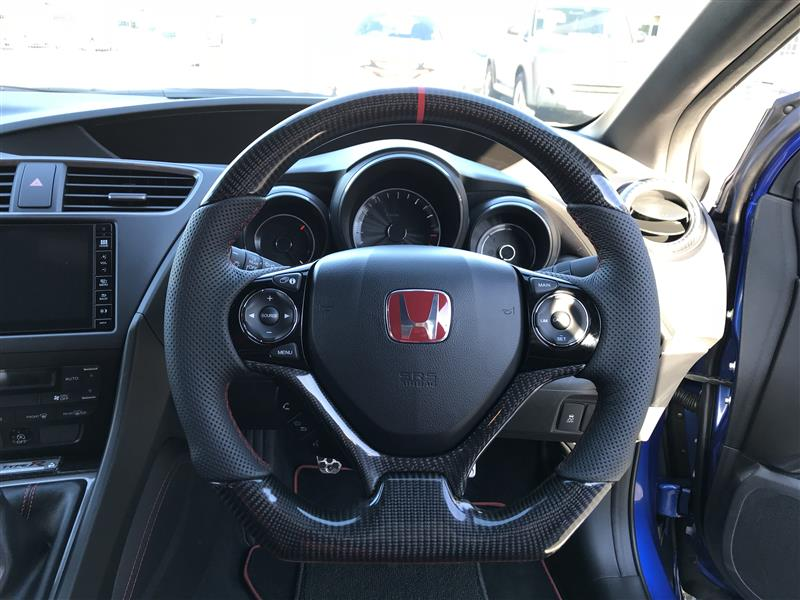@carstuningsteeringwheels HONDA Civic Fk2 Type-R Steering Wheel - REAL CARBON FIBRE !