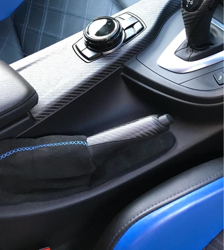 BMW M PERFORMANCE カーボン/アルカンタラ ハンドブレーキ グリップ