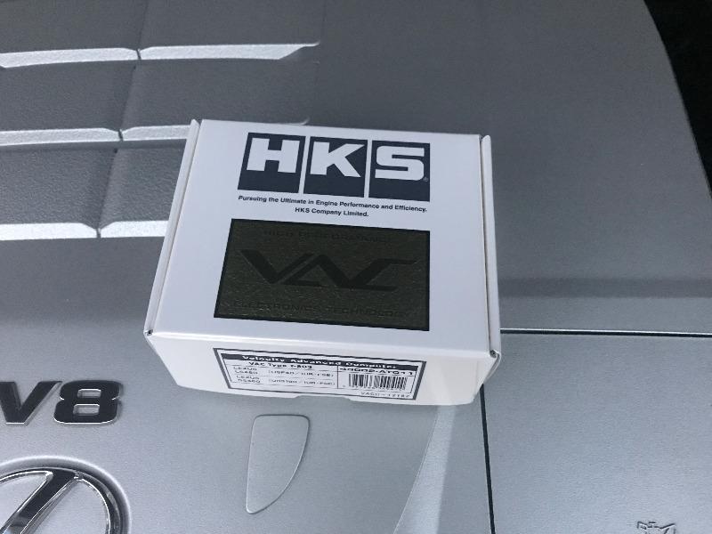 HKS VAC TypeS T-802