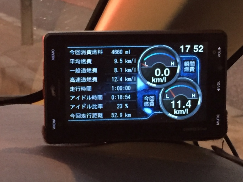 YUPITERU Super Cat GWR830sd + OBDⅡアダプター