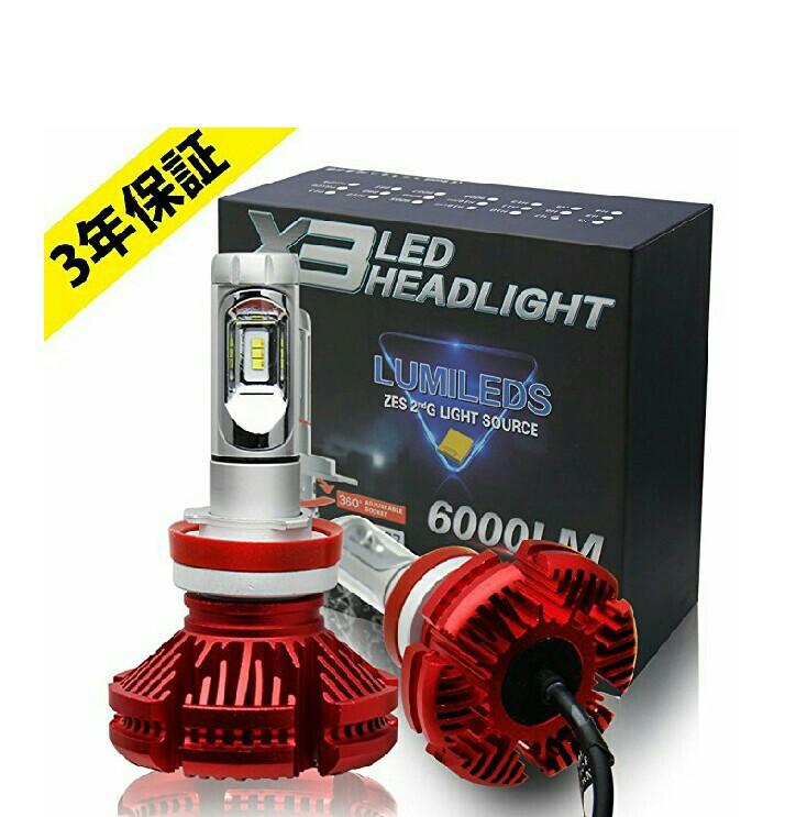 Colight LEDヘッドライトバルブ X3 H11