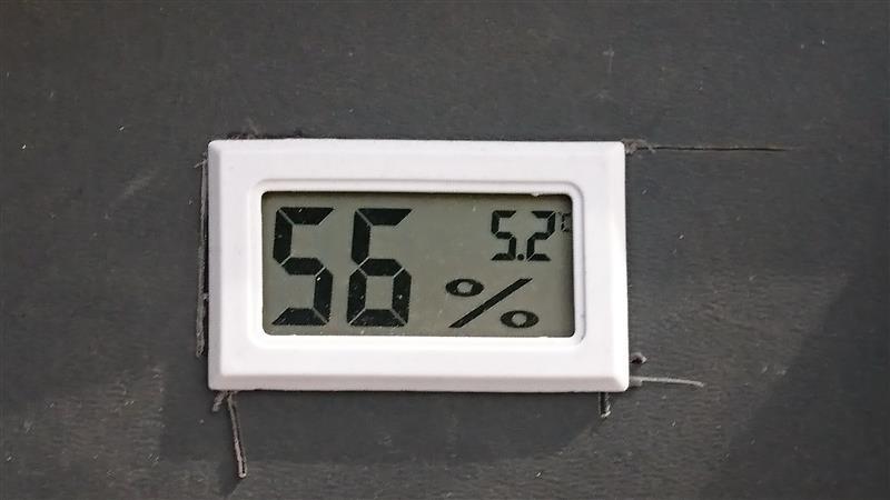 メーカー・ブランド不明 温度・湿度計
