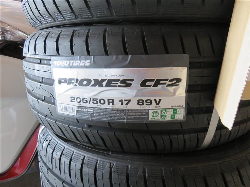 TOYO TIRES PROXES CF2 205/50R17