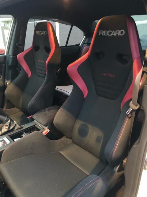 RECARO スポーツシート SR-6 Super Stark