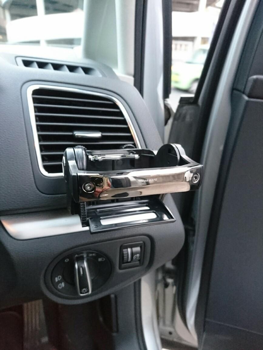 CAR MATE / カーメイト DZ434 ダンパー内蔵ドリンクホルダー