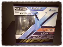 ミライースIPF LED HEAD LAMP CONVERSION KIT H4 6500K 341HLBの単体画像