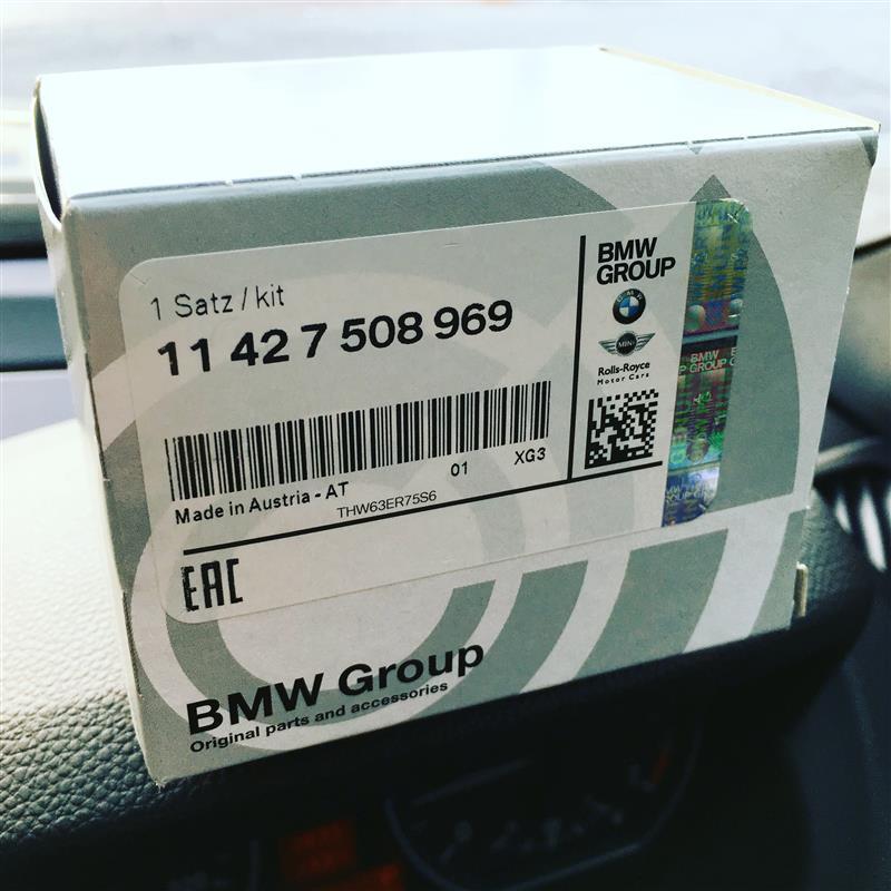 BMW(純正) 純正オイルフィルター