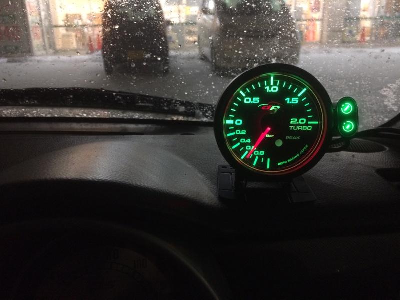 DEPO RACING 7CPK 60Φ ブースト計