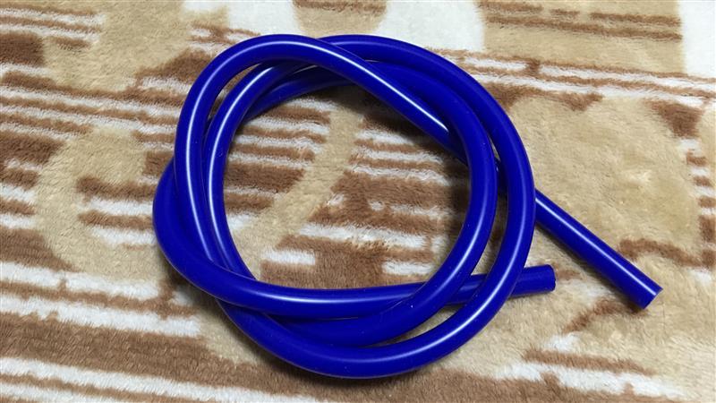 AUTOMAX izumi シリコンホース 内径4ミリ ブルー