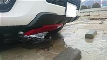 ハイラックスTRD / トヨタテクノクラフト フロントバンパーカバーの単体画像