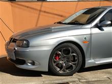 156スポーツワゴンアルファロメオ(純正) GTAホイールの単体画像