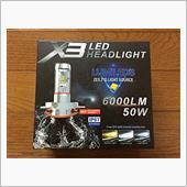 Chylay 12V専用 H4 LEDヘッドライト