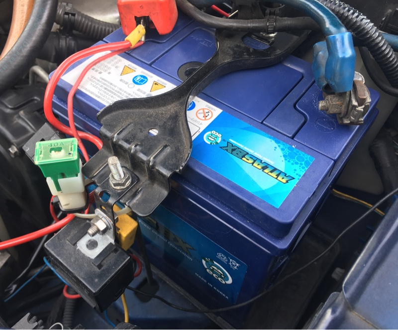 Atlas Battery EMF 44B19L 密閉式