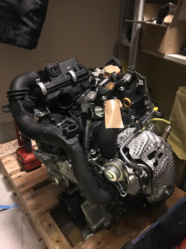 ダイハツ(純正) la600用 KF-VET  ターボエンジン