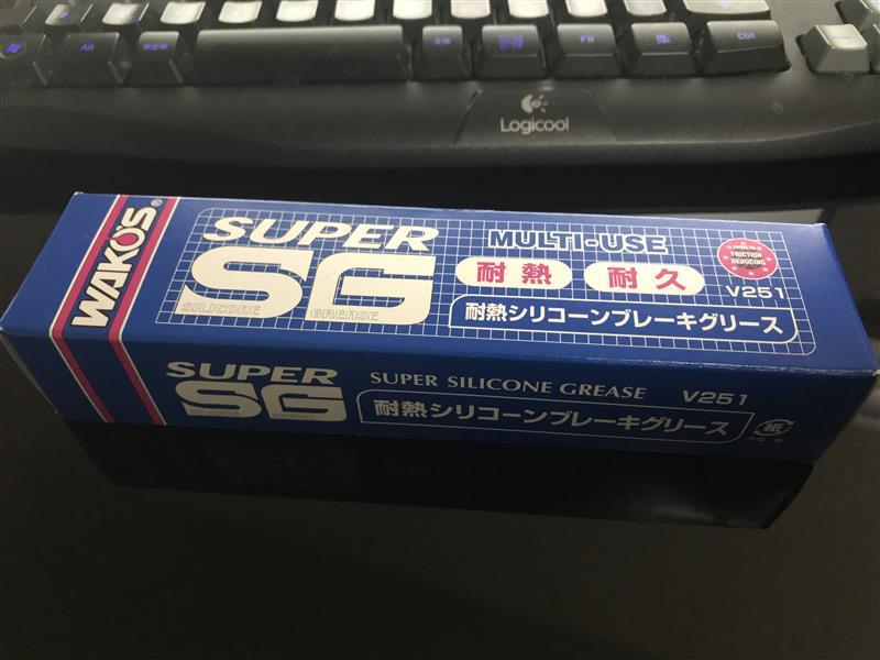 WAKO'S SSG / スーパーシリコーングリース チューブ