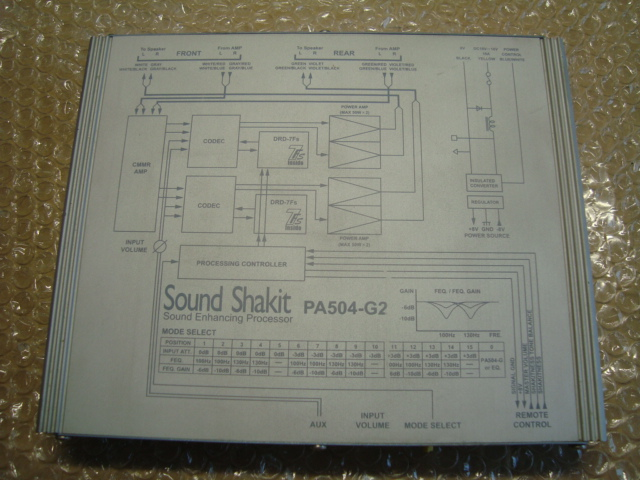 Sound Science SoundShakit PA504-G2