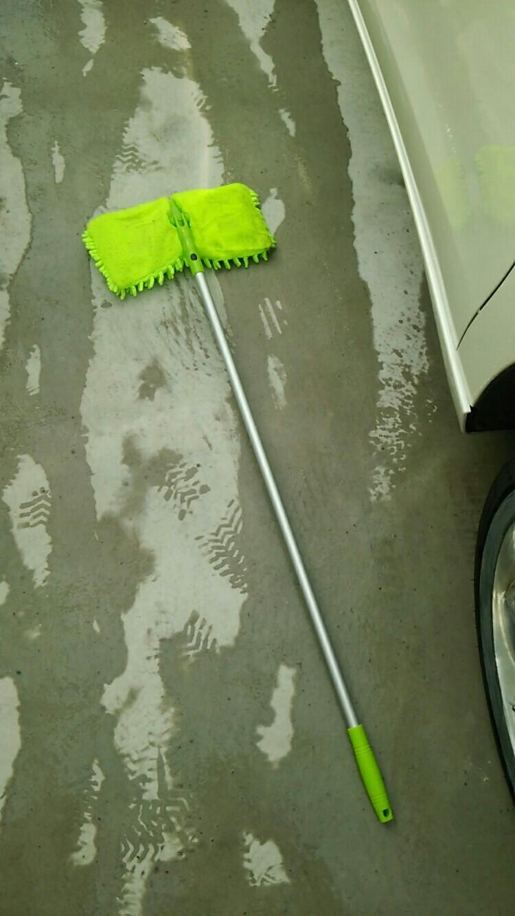 自作 天井洗い用モップ