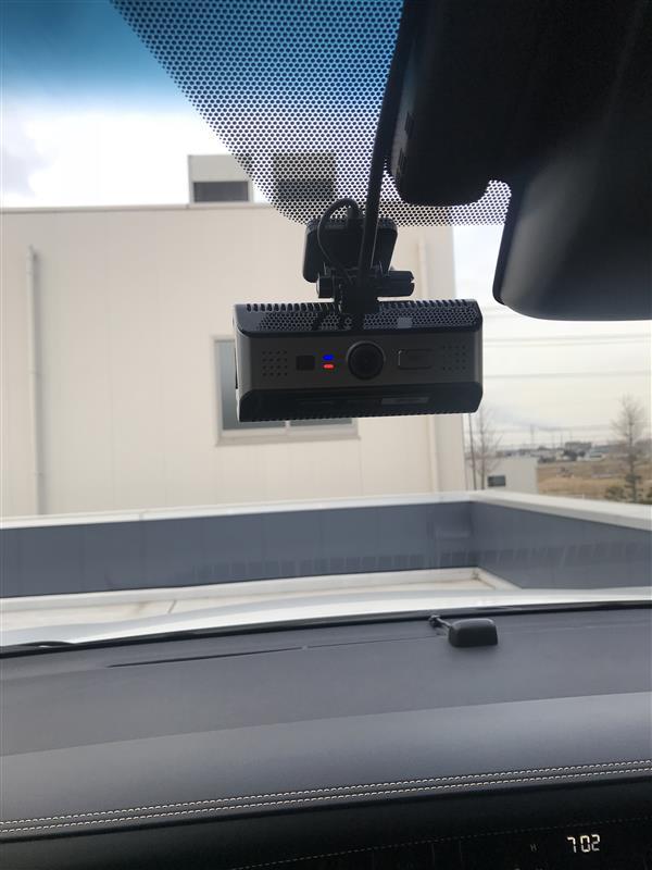 アルパイン 2WAYカメラ付ドライブレコーダー DVR-C01W