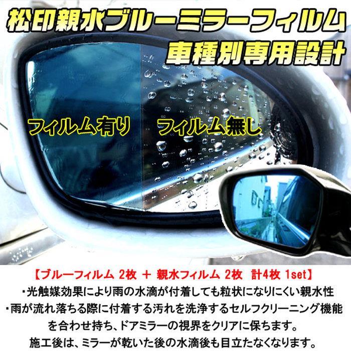 松印 親水ブルーミラーフィルム