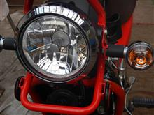 クロスカブ武川 LEDヘッドライトキットの全体画像