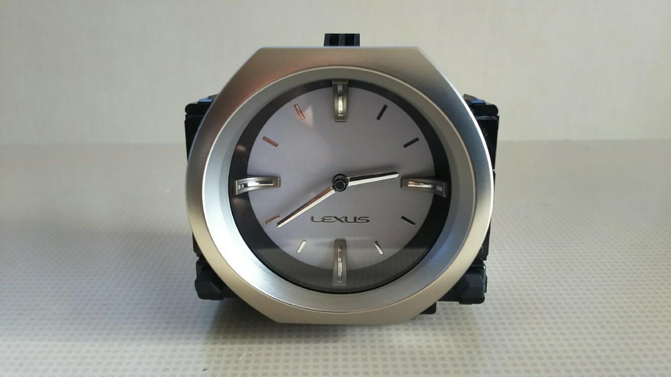 レクサス(純正) RC アナログ時計