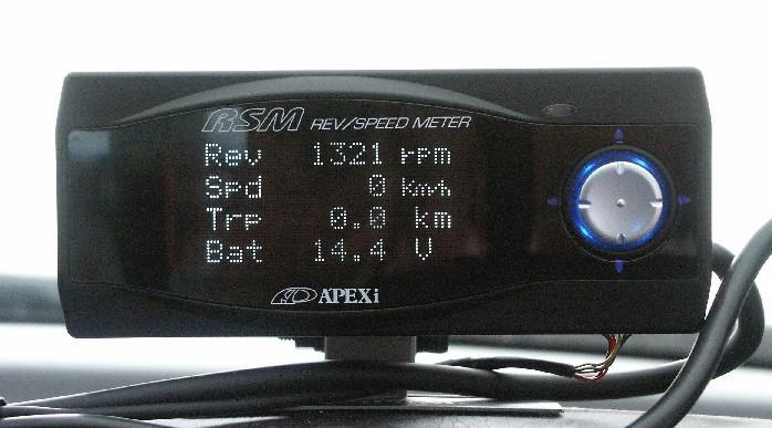 Apexi レブスピードメーター