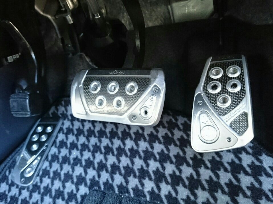 CAR MATE / カーメイト GT SPEC PEDAL SET AT-S / RP101