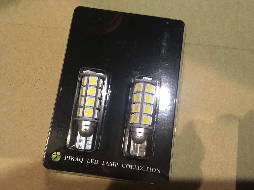 ピカキュウ T16 3chip High Power SMD 23連ウェッジシングル球 LEDカラー:ペールイエロー 無極性