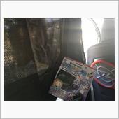 MIRAREED EC13-02 ピラーステー付簡単2重カーテン(ノーマル+メッシュ生地)