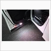 シェアスタイル 30系 ヴェルファイア 後期 ドアカーテシユニット 純正LEDルームランプ装着車専用
