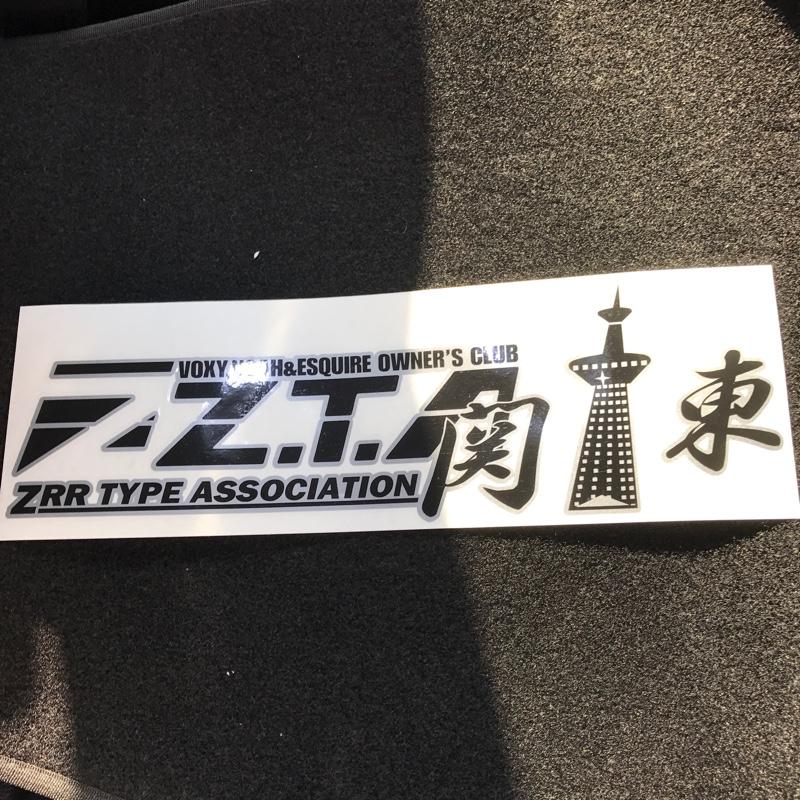 ZTA関東ステッカー ZTA関東ステッカー