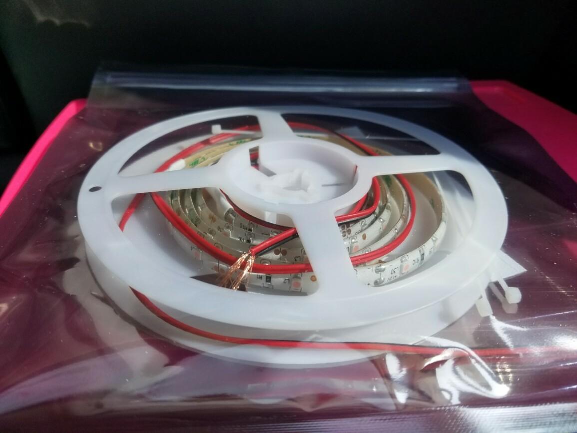 ADWORKS 正面発行LEDテープ120cm(ピンク)