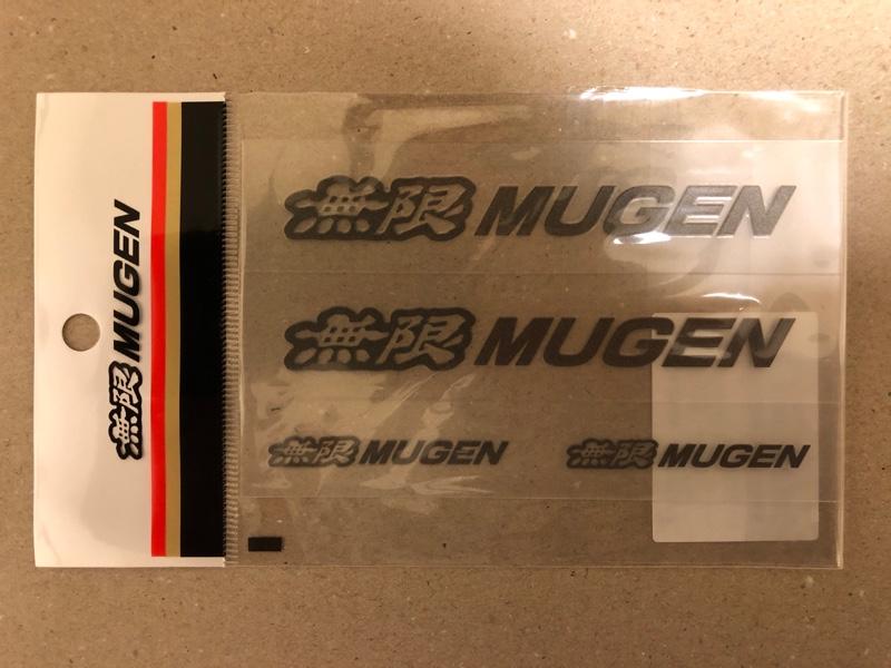 MUGEN / 無限 MUGEN EMBLEM STICKER S