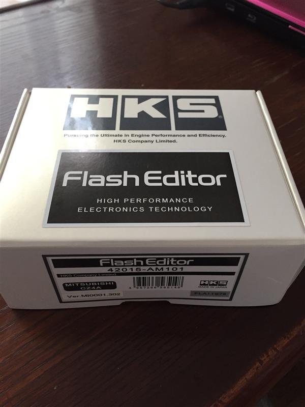 HKS フラッシュエディター