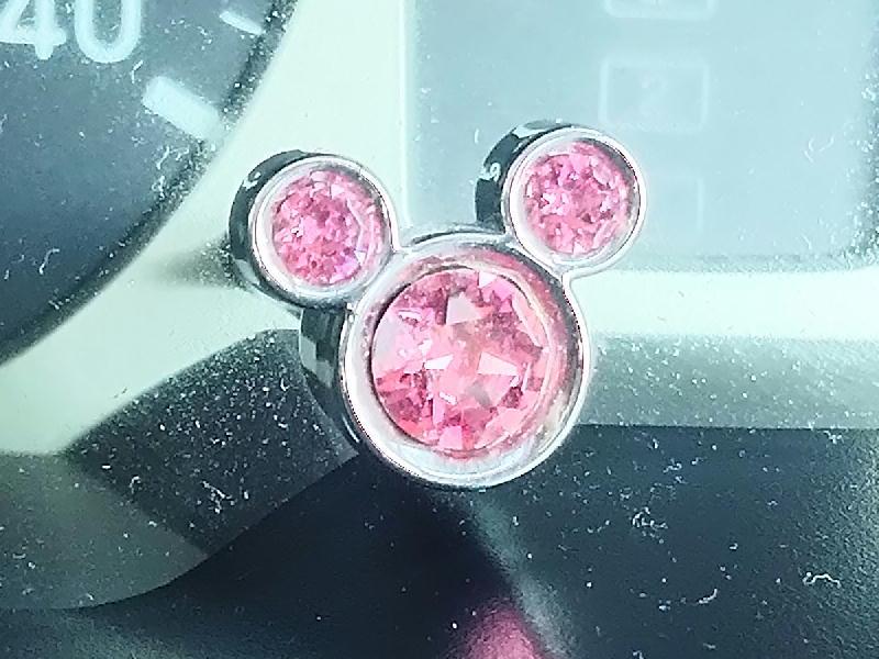 NAPOLEX WD-305 メーターノブキャップ〈ミッキー〉ピンク