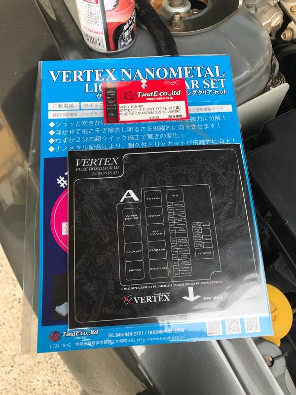T&E VERTEX FUSE BOX DIAGRAM