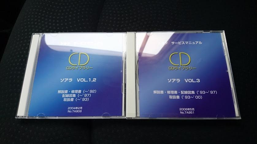 トヨタ(純正) サービスマニュアル CDライブラリー