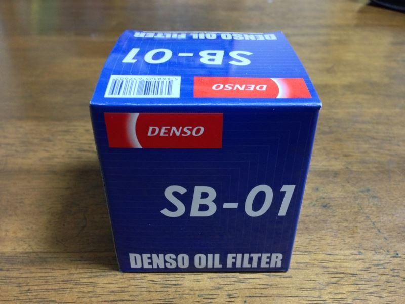 DENSO オイルフィルター SB01