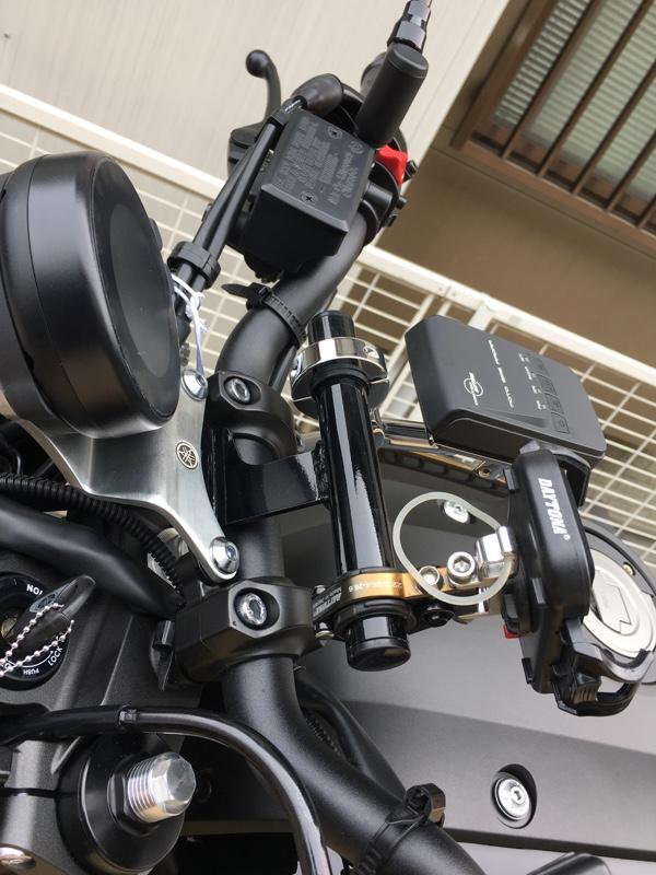 DAYTONA(バイク) 携帯ホルダー、バイクレーダーによる