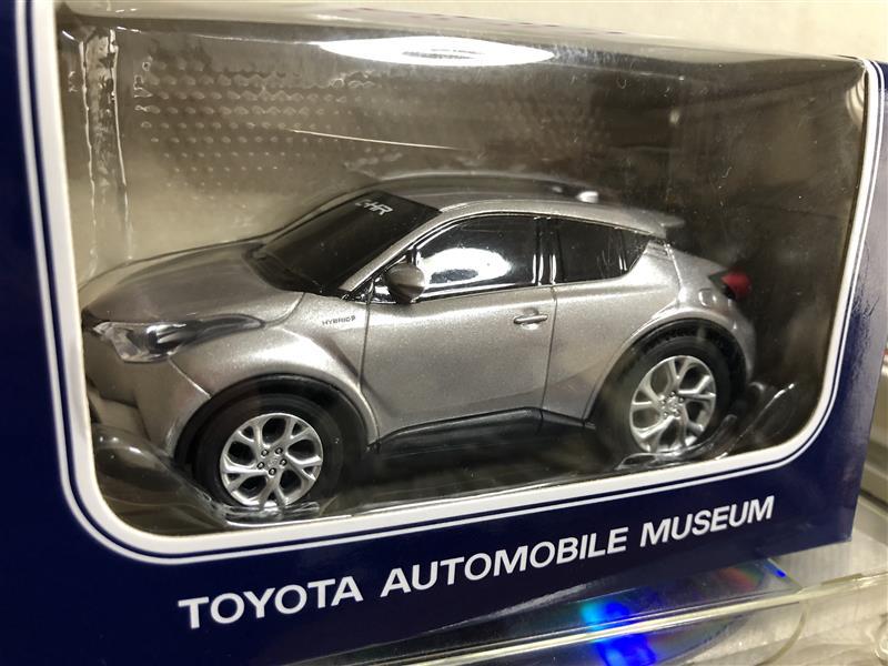 トヨタエンタプライズ C-HR プルバックカー