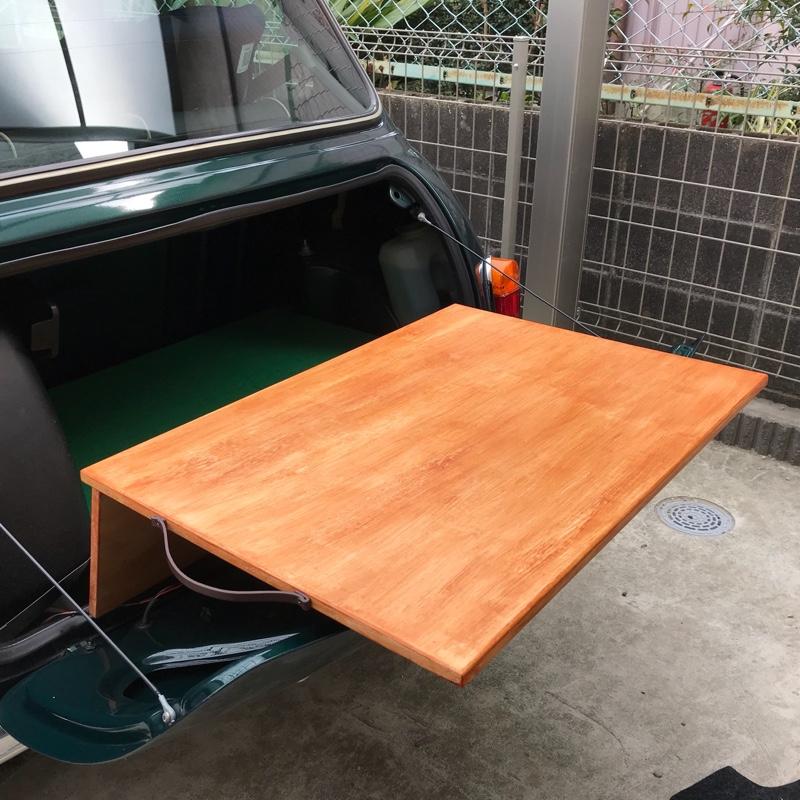 自作 トランクテーブル