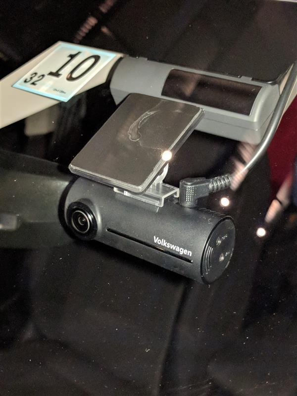 VW  / フォルクスワーゲン純正 ドライブレコーダー DR-S1-VW