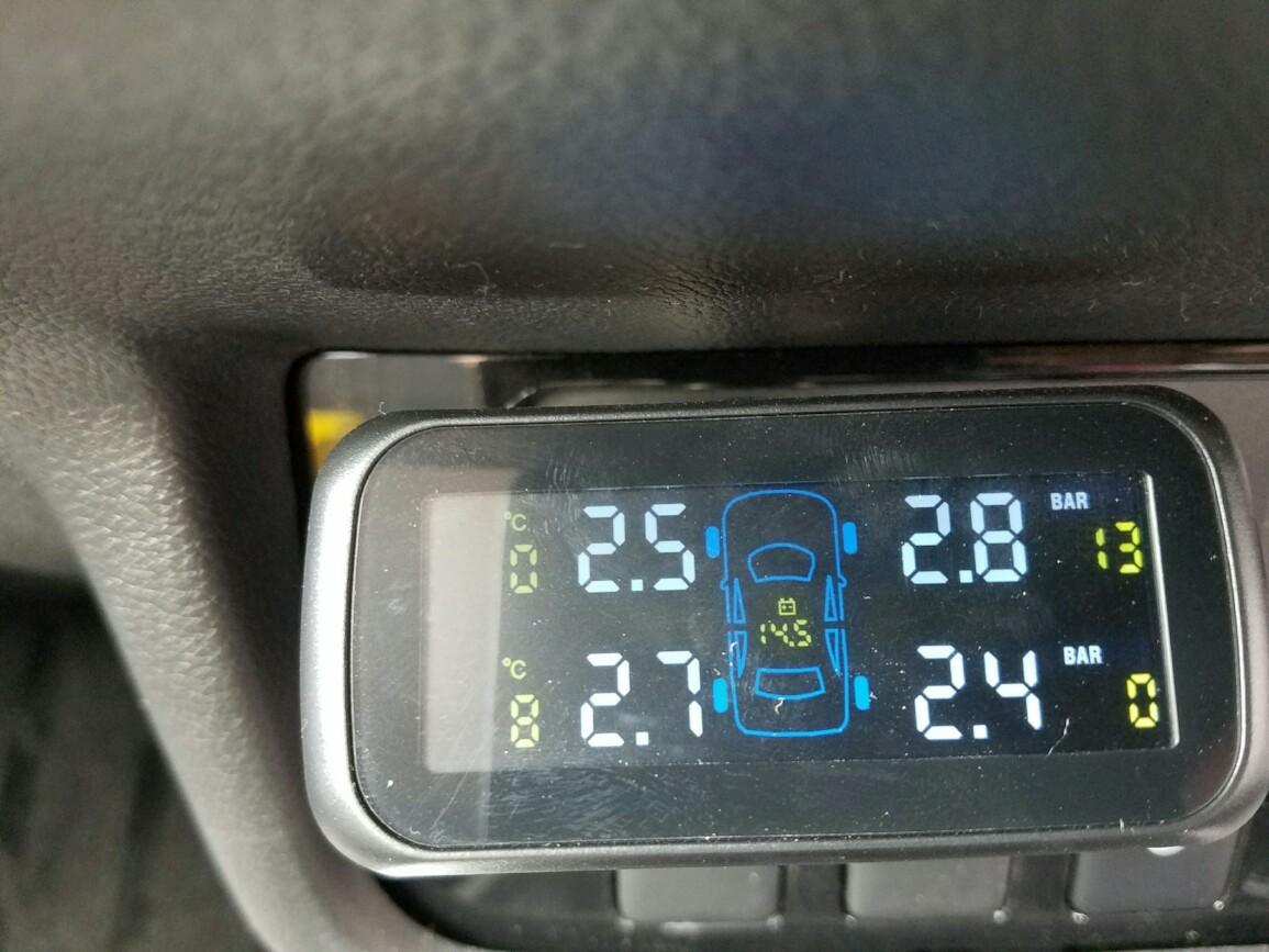 汎用 汎用 タイヤ 空気圧モニタリングシステム U903Z ワイヤレス 空気圧モニター/TPMSモニター