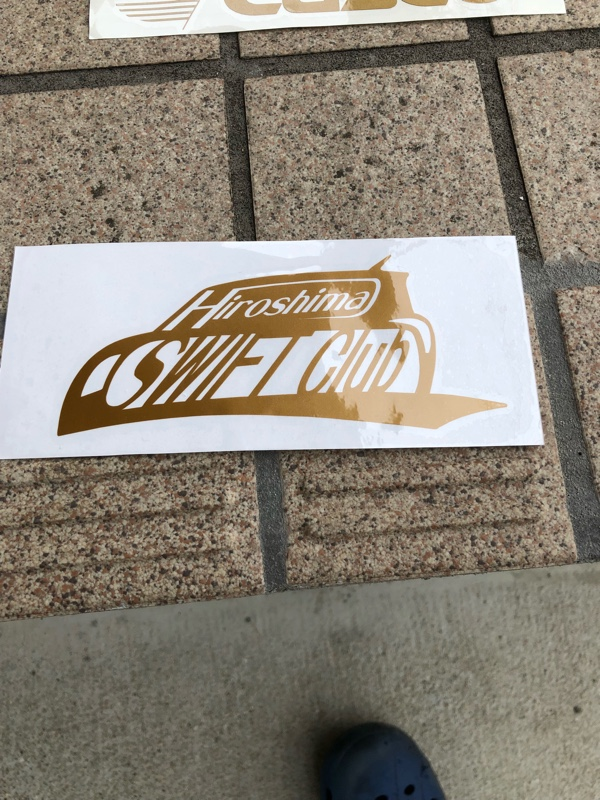 広島スイフトクラブ チームステッカー