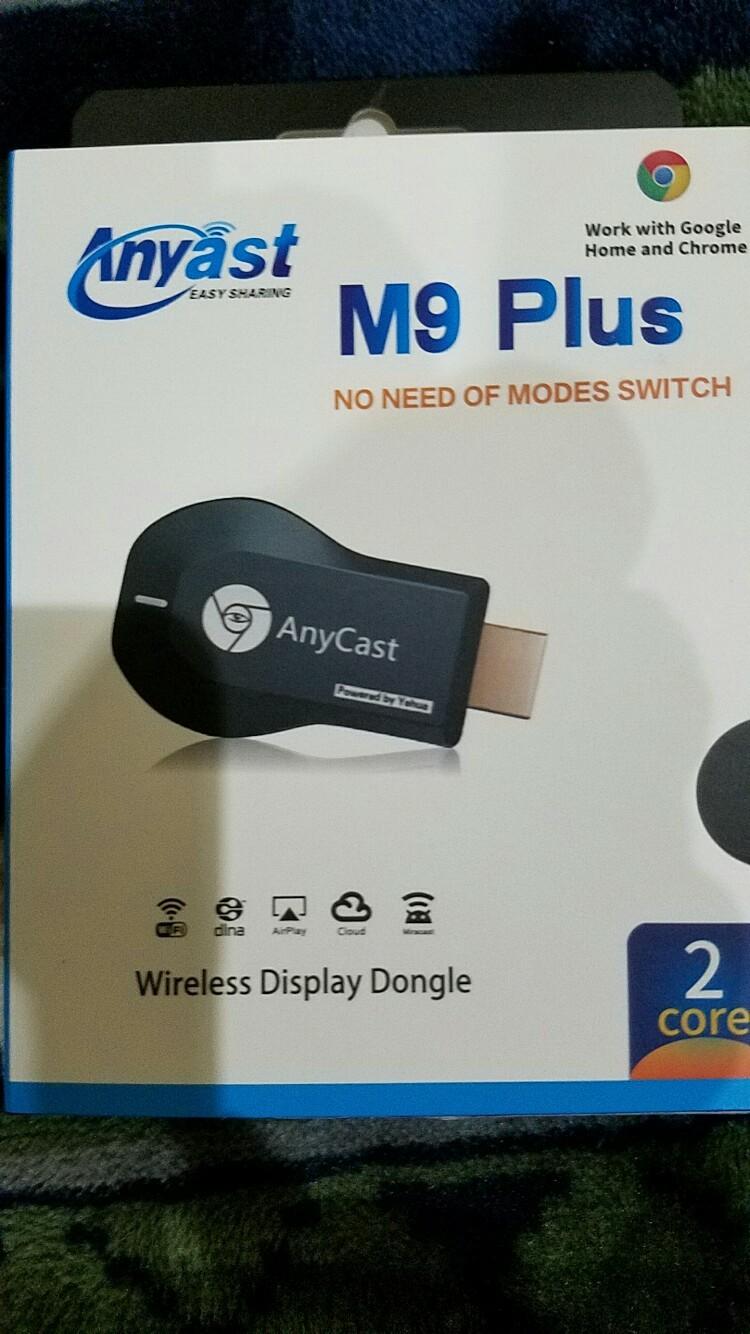 dendan ドングルレシーバーAnycast M9 Plus HDMIWiFiディスプレイ iOS、Android、 Windows、MAC OSシステム通用 CE/RoHS認証 モード交換不要 支持Google
